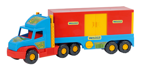 Dětské nákladní auto s kontejnerem WADER 78 cm