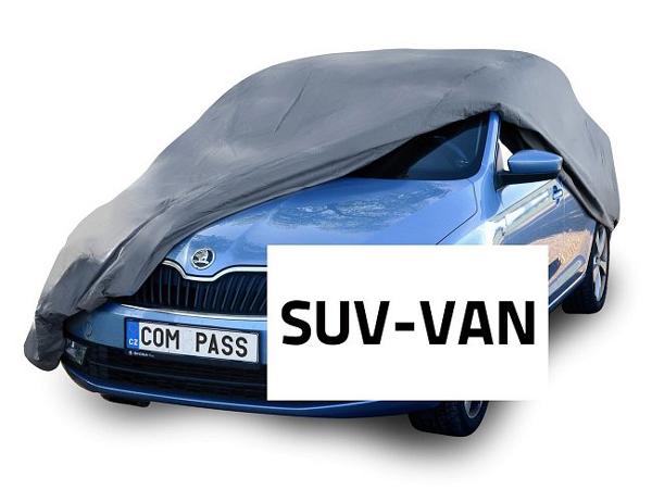Compass • Ochranná plachta auta FULL SUV-VAN 515x195x142cm 100% WATERPROOF