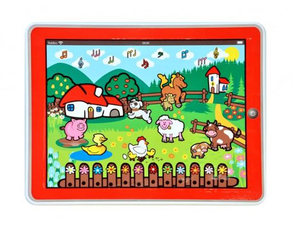 Tablet dětský MOJE PRVNÍ ZVÍŘÁTKA farma