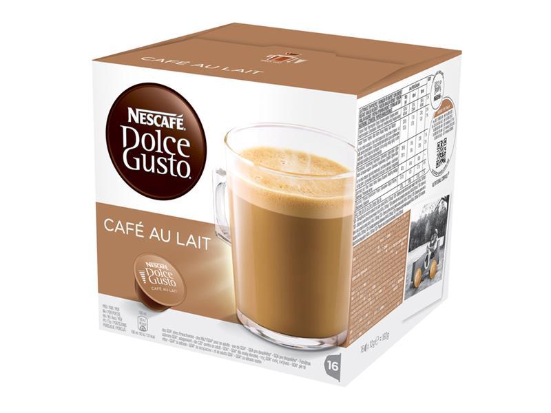 Nescafé Dolce Gusto Cafe au lait (náplň) 16 kapslí