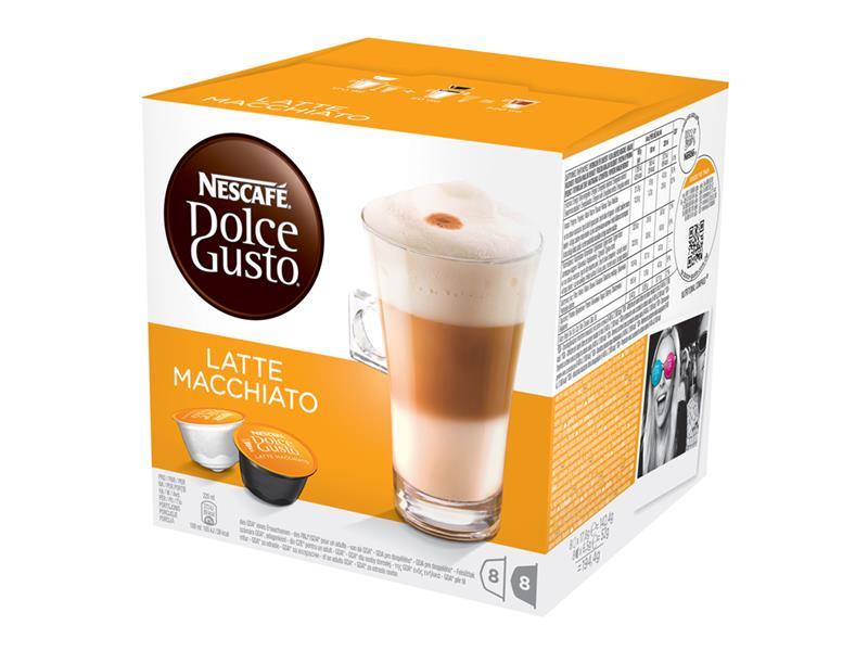 Nescafé Dolce Gusto LATTE MACCHIATO (náplň) 16 kapslí na 8 šálků kávy