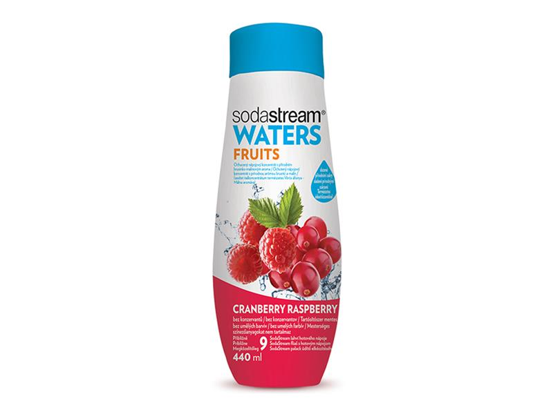 Sodastream Sirup FRUITS Brusinka-Malina 440 ml