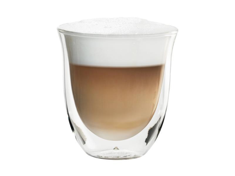 Sklenice DELONGHI cappuccino 2ks 190ml