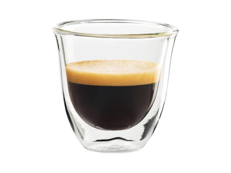 Sklenice DELONGHI espresso 2ks 60ml