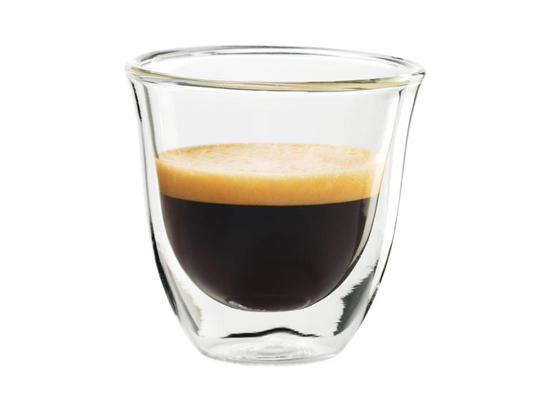 Sklenice Espresso DELONGHI 2 kusy