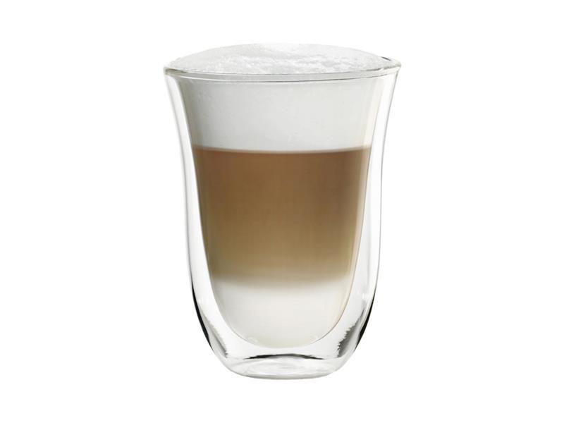 Sklenice DELONGHI latte macchiato 2ks 220ml