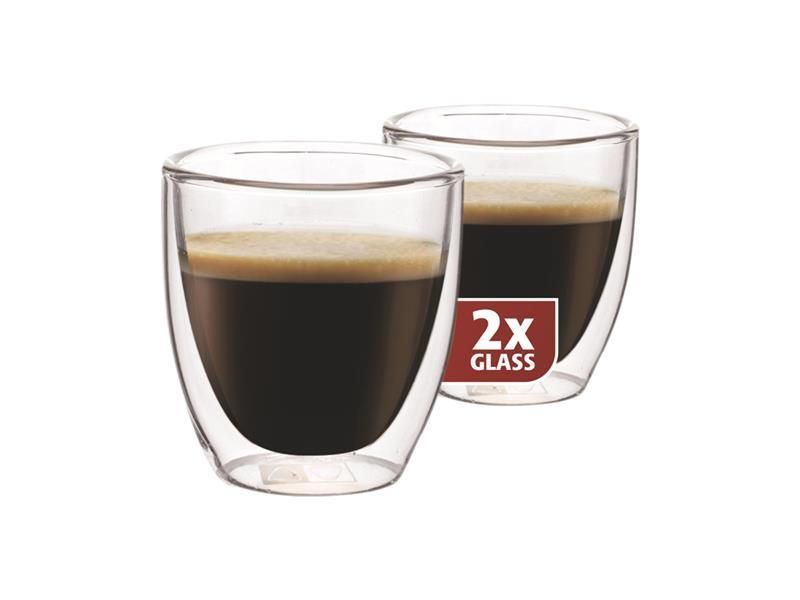 Sklenice MAXXO espresso 2ks 80ml