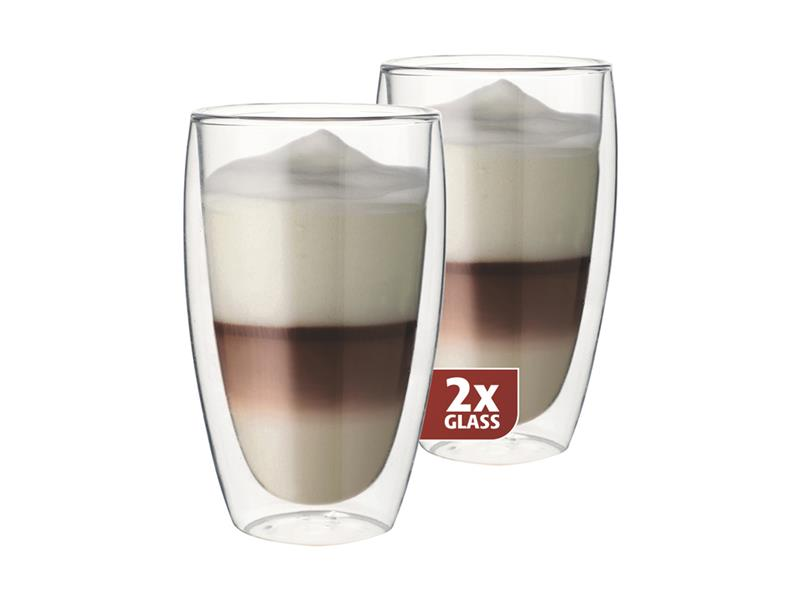 Sklenice MAXXO cafe latte 2ks 380ml