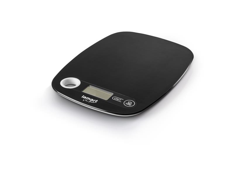 Váha kuchyňská LAMART LT7022 POIDS černá
