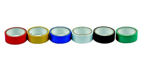 Páska PVC 19/3m barevné COMPASS 6ks