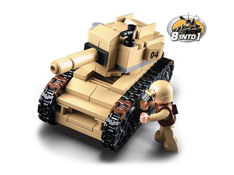 Stavebnice SLUBAN ARMY TANK M38-B0587B