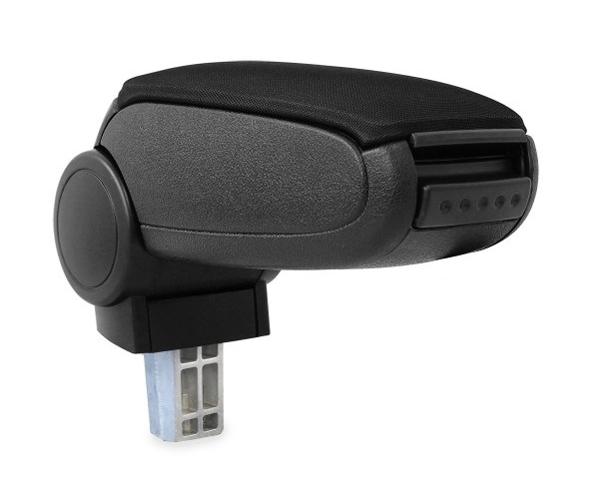 Opěrka loketní PEUGEOT 206, 206 CC textilní černá