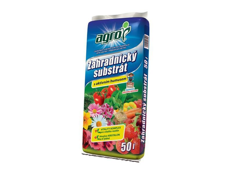 Substrát zahradnický AGRO 50L