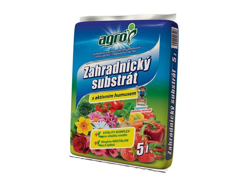 Substrát zahradnický AGRO 5l
