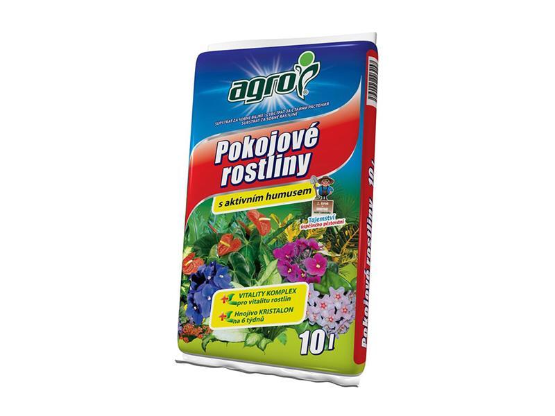 Substrát pro pokojové rostliny AGRO 10L