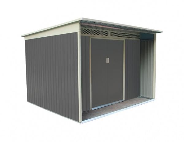 Domek zahradní G21 GBAH 720 267 x 236 cm šedý