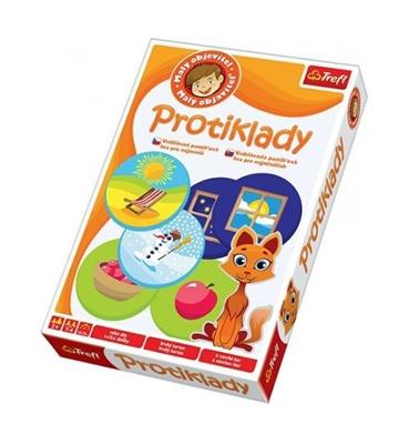 Hra vzdělávací TREFL MALÝ OBJEVITEL PROTIKLADY dětská