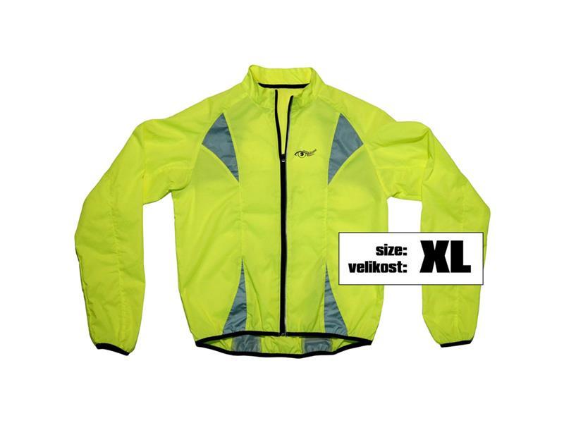 Bunda XL reflexní žlutá S.O.R.