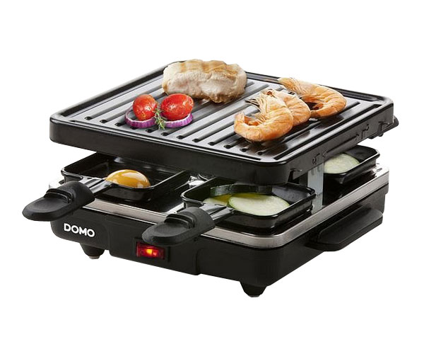 Gril DOMO DO9147G Raclette pro 4 osoby