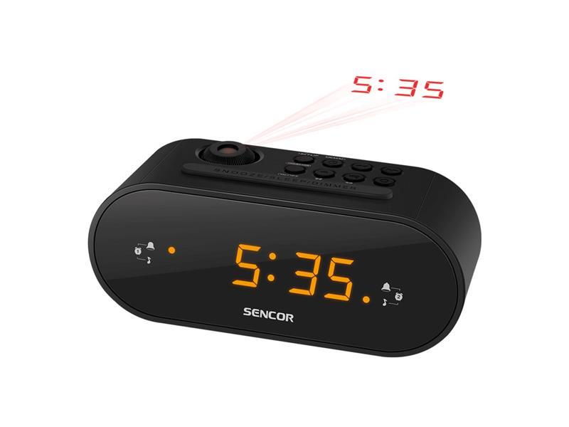 Radiobudík SENCOR SRC 3100 B projekční