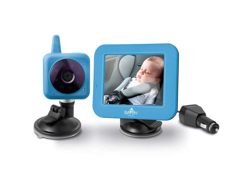 Chůvička dětská BAYBY Digital video auto BBM 7030