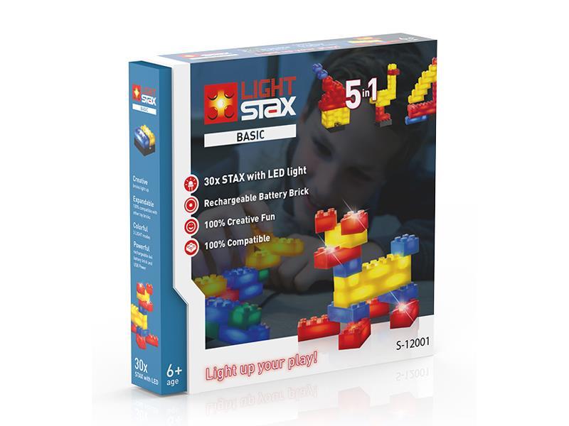 Stavebnice LIGHT STAX BASIC 5v1 kompatibilní LEGO