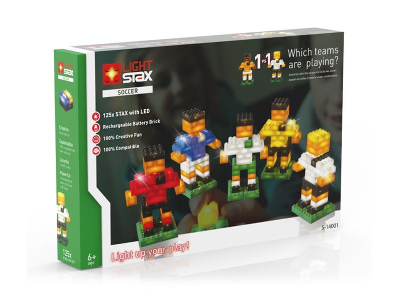 Stavebnice LIGHT STAX SOCCER 1v1 kompatibilní LEGO