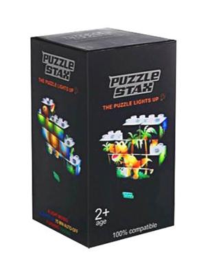 Stavebnice LIGHT STAX PUZZLE SET DINOSAUR kompatibilní LEGO DUPLO