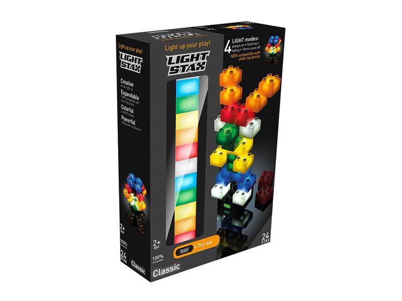 Stavebnice LIGHT STAX CLASSIC kompatibilní LEGO DUPLO