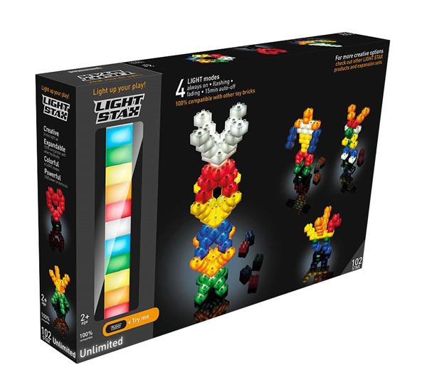 Stavebnice LIGHT STAX UNLIMITED kompatibilní LEGO DUPLO