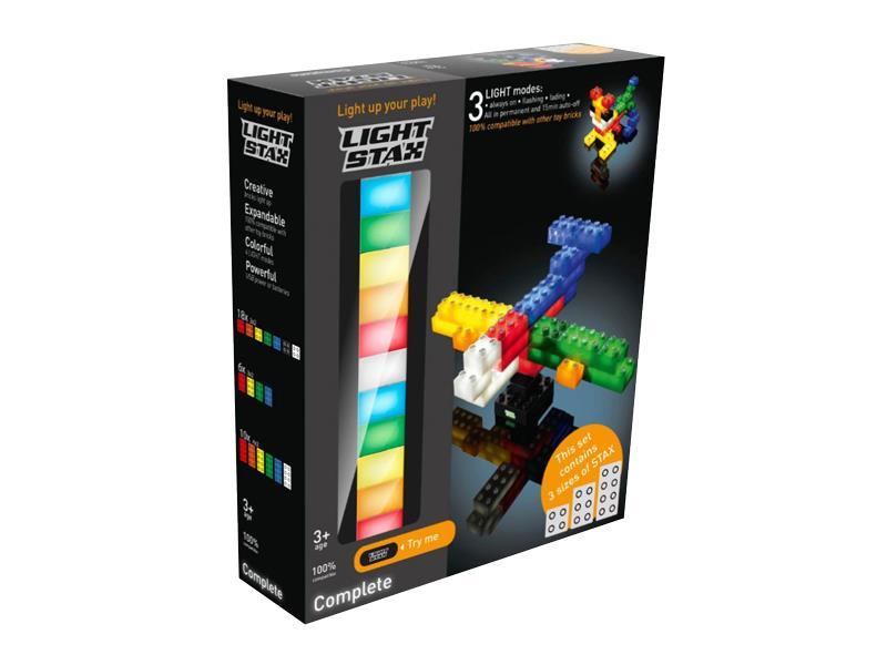 Stavebnice LIGHT STAX COMPLETE SET kompatibilní LEGO DUPLO