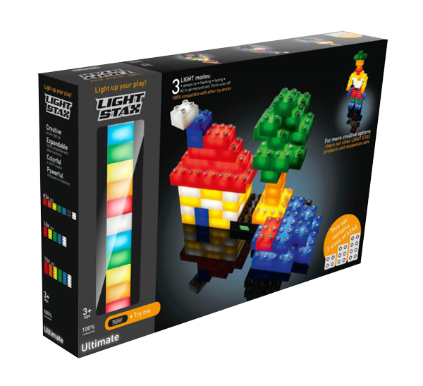 Stavebnice LIGHT STAX ULTIMATE SET kompatibilní LEGO DUPLO
