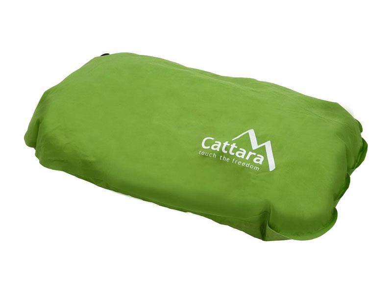 Polštář samonafukovací CATTARA 50x30x13cm zelený