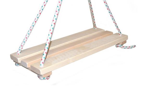 Houpačka dětská TEDDIES dřevěná