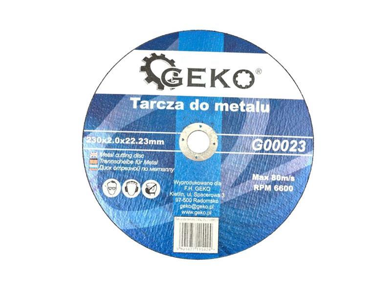 Kotouč řezný na ocel, 230X2,0MM, GEKO