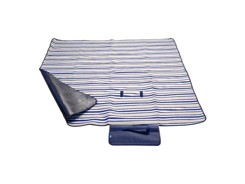 Deka pikniková CATTARA FLEECE 150x135cm modrá