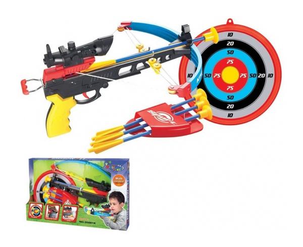 Kuše pistolová G21 modrá