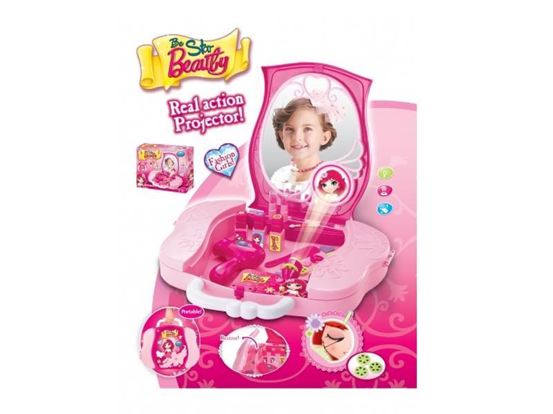 Dětský kosmetický kufřík G21 s příslušenstvím