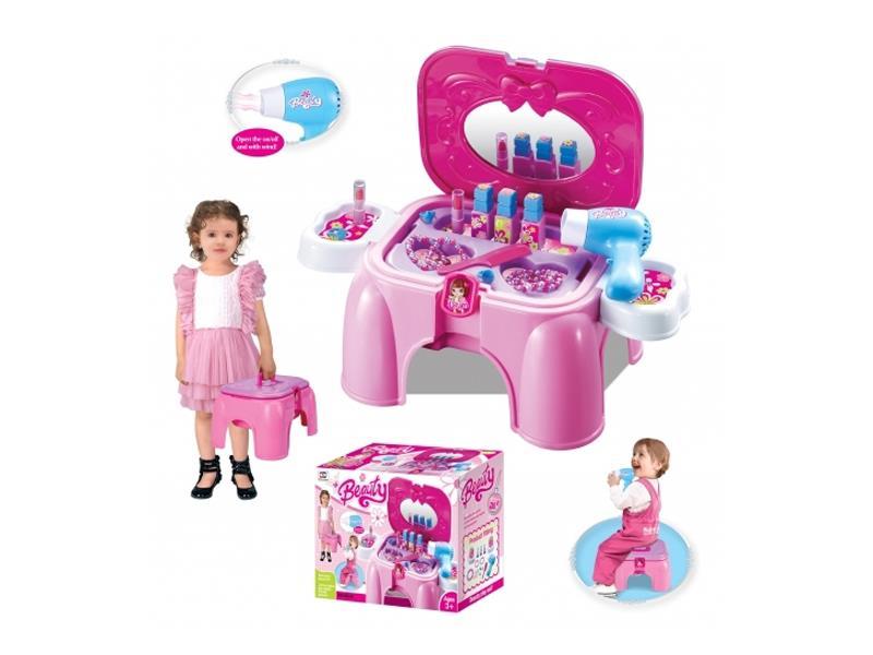 Dětský kosmetický stolek G21 malý s příslušenstvím
