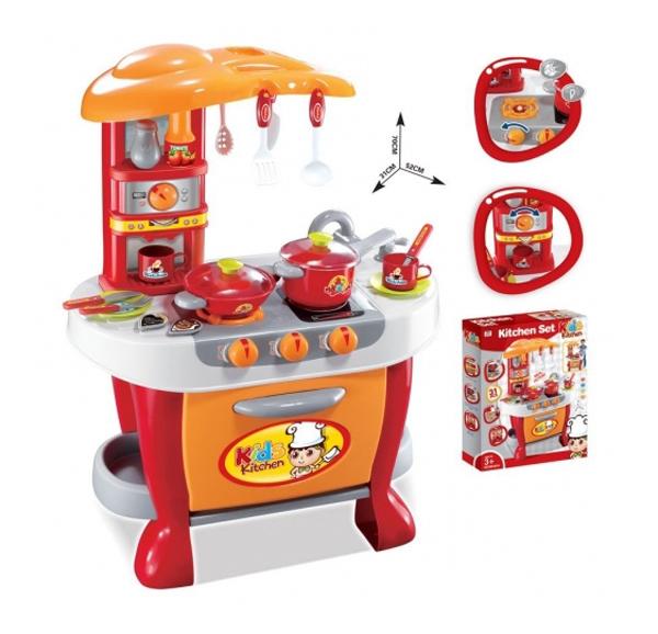 Dětská kuchyňka G21 MALÝ KUCHAŘ s příslušenstvím