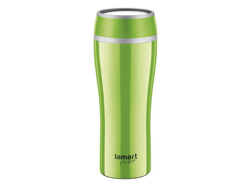 Termohrnek LAMART LT4024 0,4L FLAC zelený
