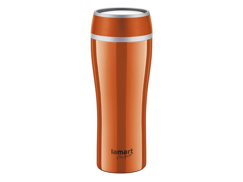 Termohrnek LAMART LT4026 0,4L FLAC oranžový