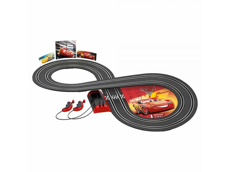 Autodráha CARRERA FIRST 63010 DISNEY CARS 3