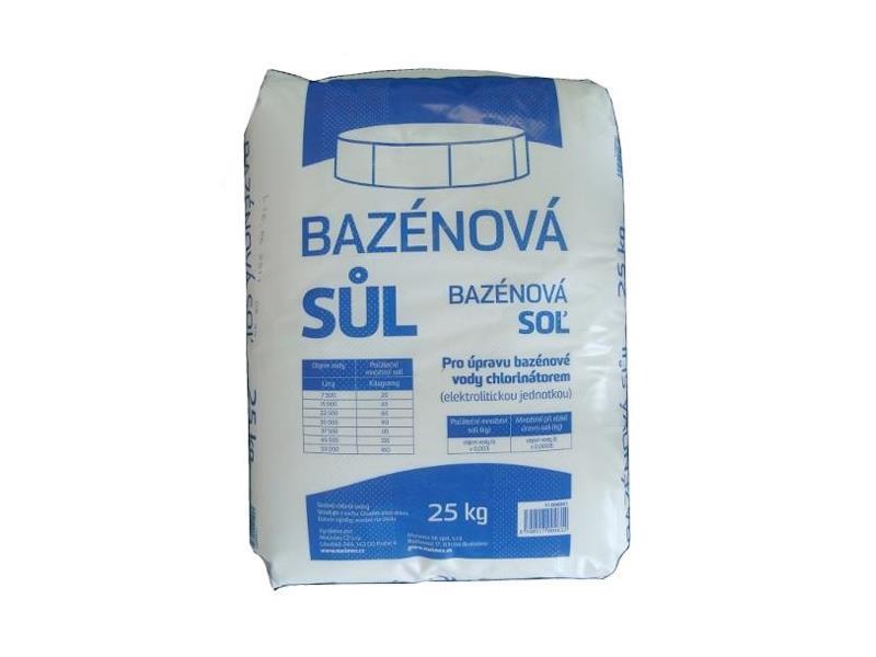 Sůl bazénová MARIMEX 25kg - efekt mořské vody