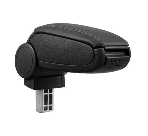 Opěrka loketní RENAULT CLIO III 2005 - 2012 syntetická kůže černá
