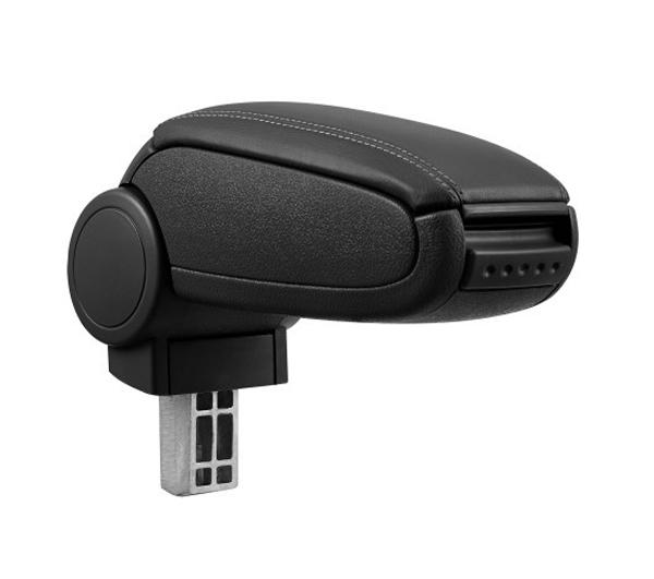 Opěrka loketní RENAULT CLIO IV 2012 a více syntetická kůže BLACK