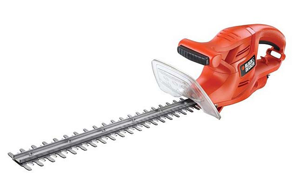 Nůžky na živý plot elektrické BLACK & DECKER 420W, lišta 45cm/rozteč 16mm GT4245-XK