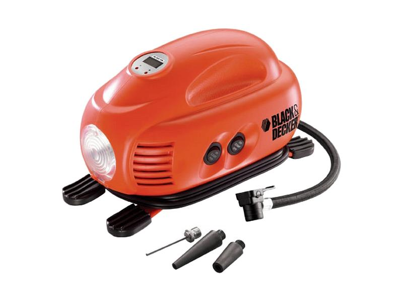 Kompresor BLACK & DECKER 12V 8,3bar 9,5L/min. ASI200-XJ