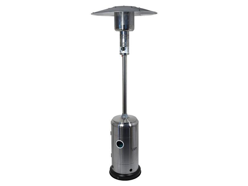 Terasové topidlo - Plynový zářič SILVER 12,5kW s regulátorem