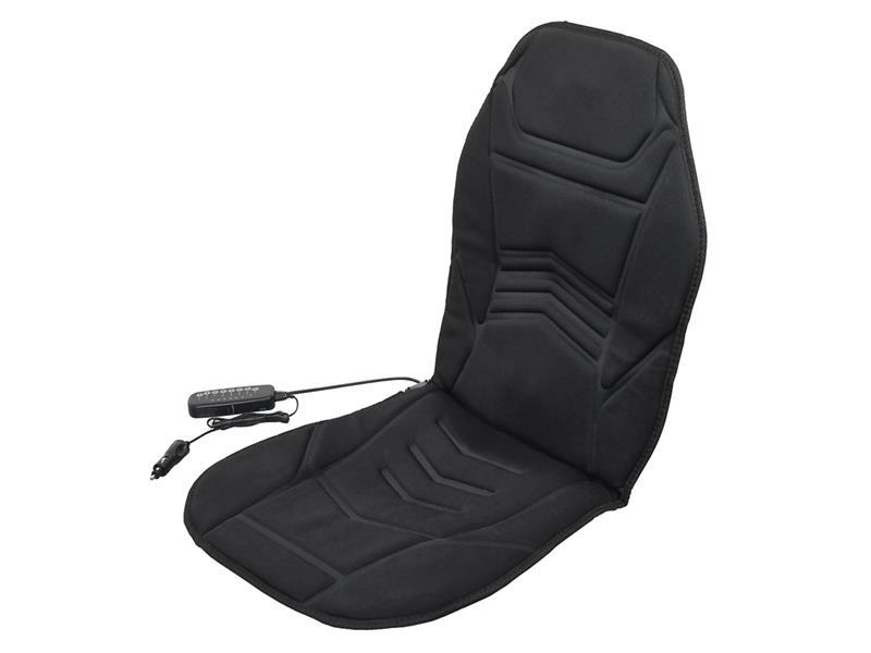 Potah sedadla 12V COMPASS ARROW masážní, vyhřívaný, s termostatem